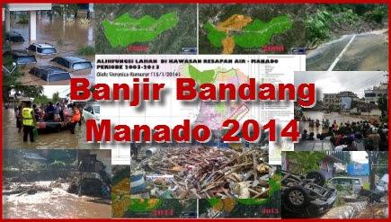 Banjir Manado Januari 2014