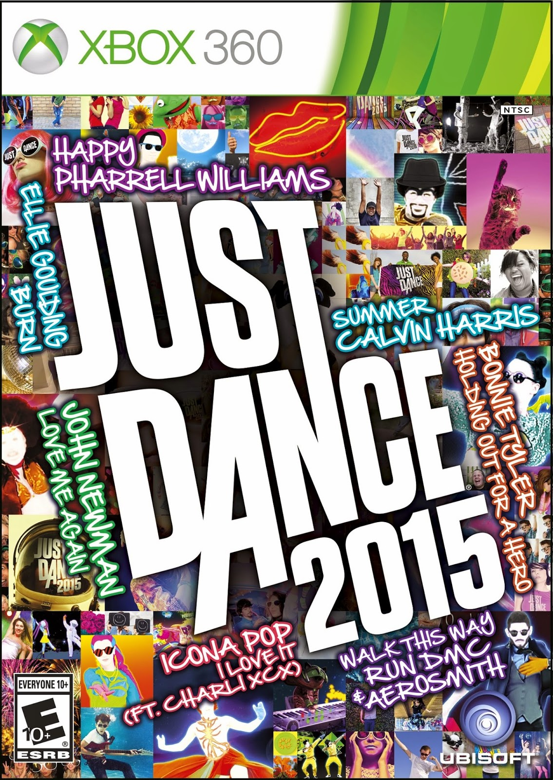 Just Dance 2015 XBOX 360 ESPAÑOL Cover Caratula