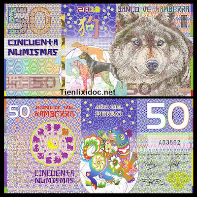 Tiền con chó kamberra
