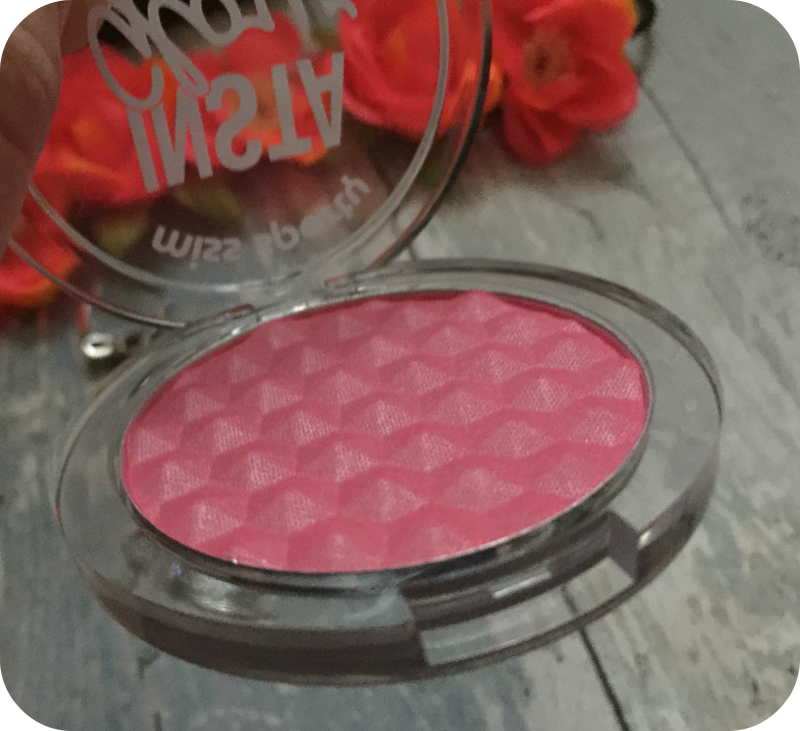 miss sporty instaglow blusher glowing mauve