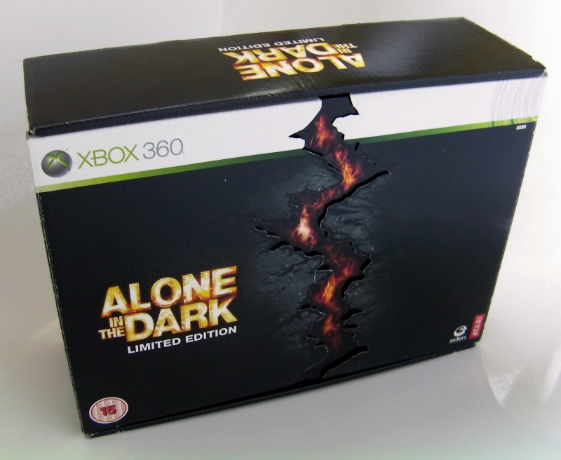Pixellationmagazine What S In The Box Alone In The Dark Limited