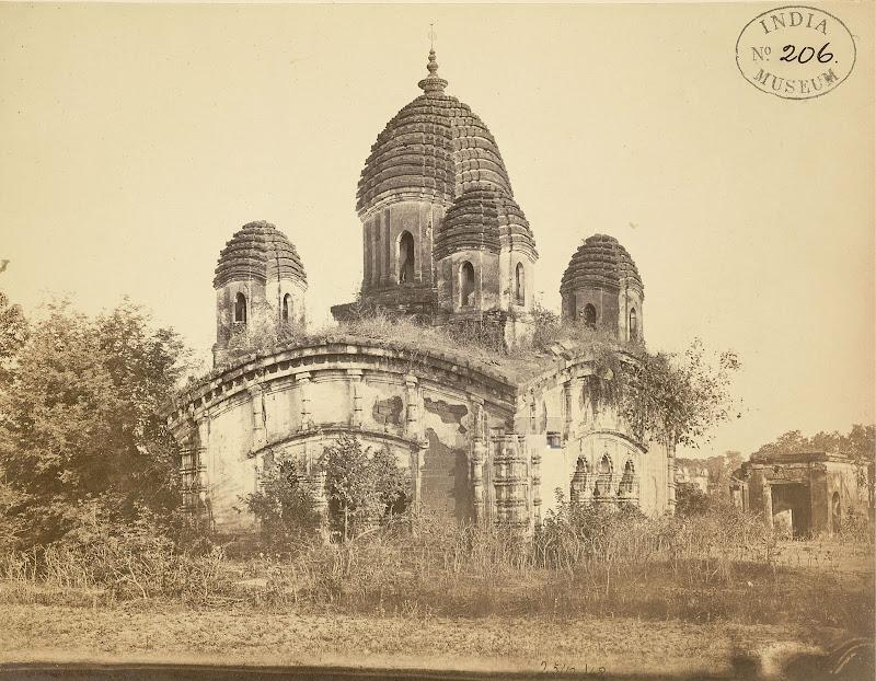 Awasghar Temple, Midnapore, Bengal - 1869