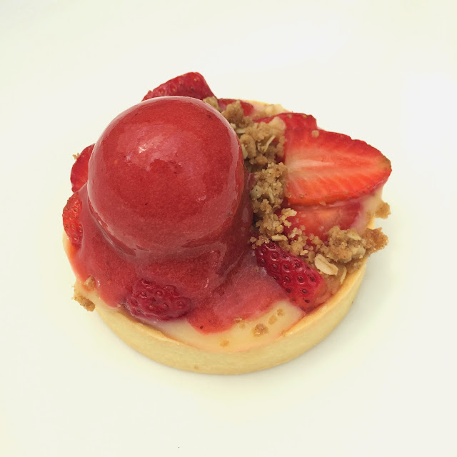 Strawberry Lemon Meyer Tart