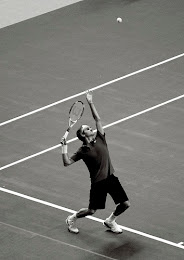 Federer's Smooth Serve