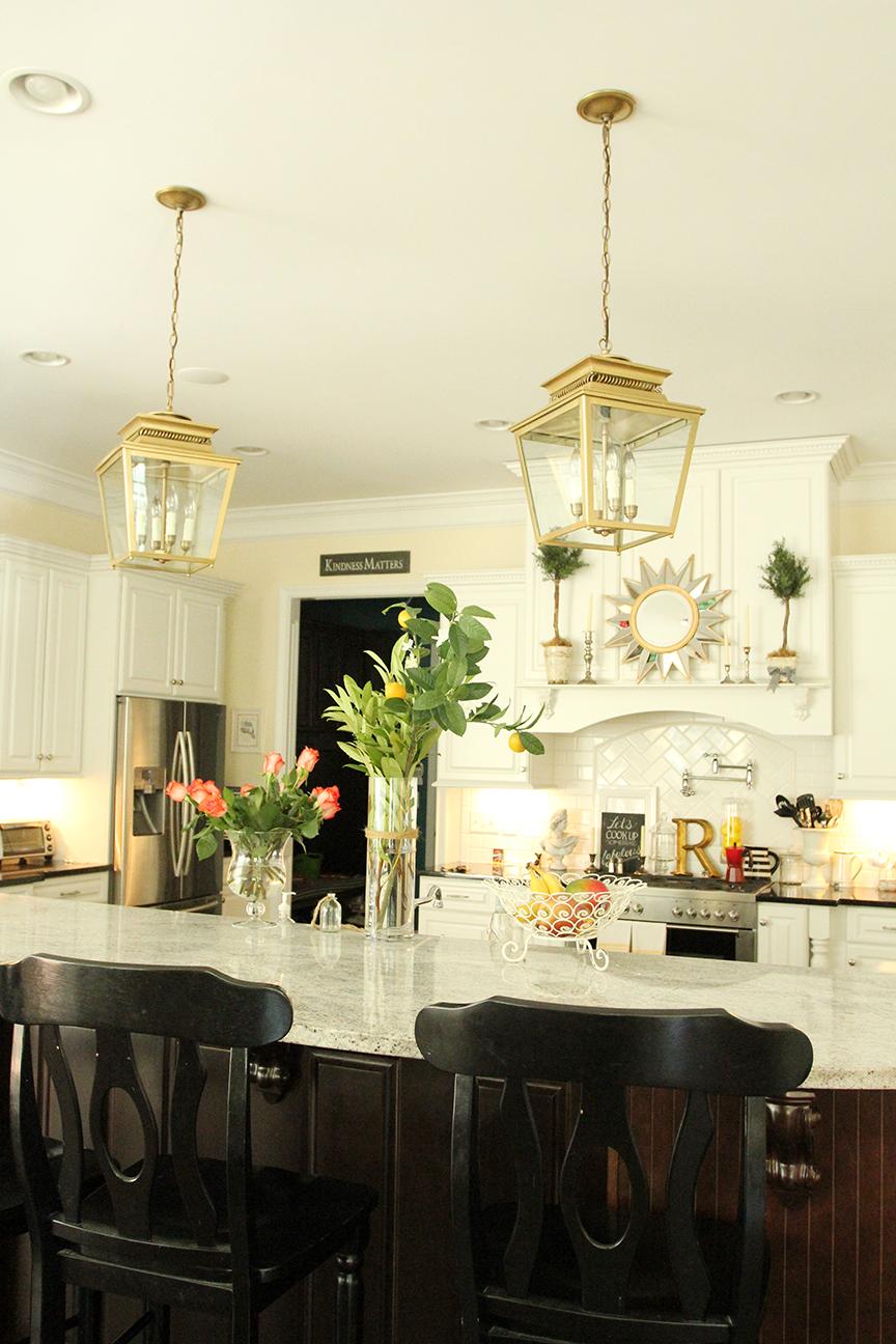 ballard designs piedmont lanterns in gold less than perfect life of bliss home diy. Black Bedroom Furniture Sets. Home Design Ideas