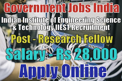 IIEST Recruitment 2017 Shibpur