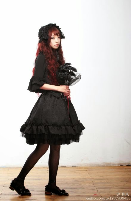 710638e3224 61132 Gothic Lolita shirt by GLP. 2018 Lolita Fashion Wardrobe ❤ Hello  Batty ❤. Cotton Black Lace Ties Gothic Lolita Dress