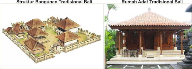 rumah adat tradisional bali