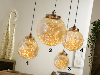 Lamparas 4 Tamaños en Bolas de Cristal Iluminacion Leds