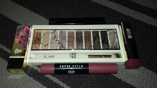 Catrice, Etos, Flower Beauty, lipstick, Milani, MUA, oogschaduw,