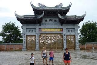 Ninh Binh. La Pagoda Bai Dinh.