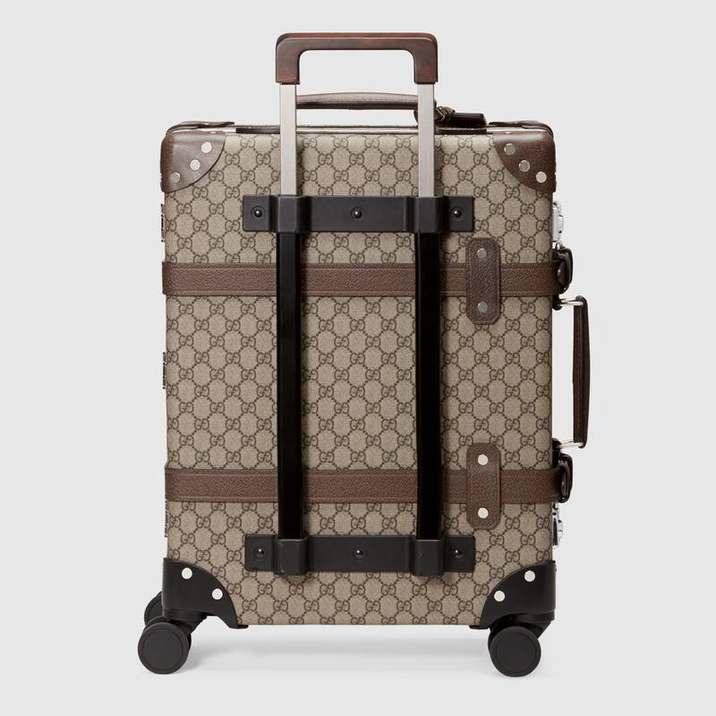 7d3192f2a969 Globe-Trotter GG Carry On in Ebony/beige GG Supreme