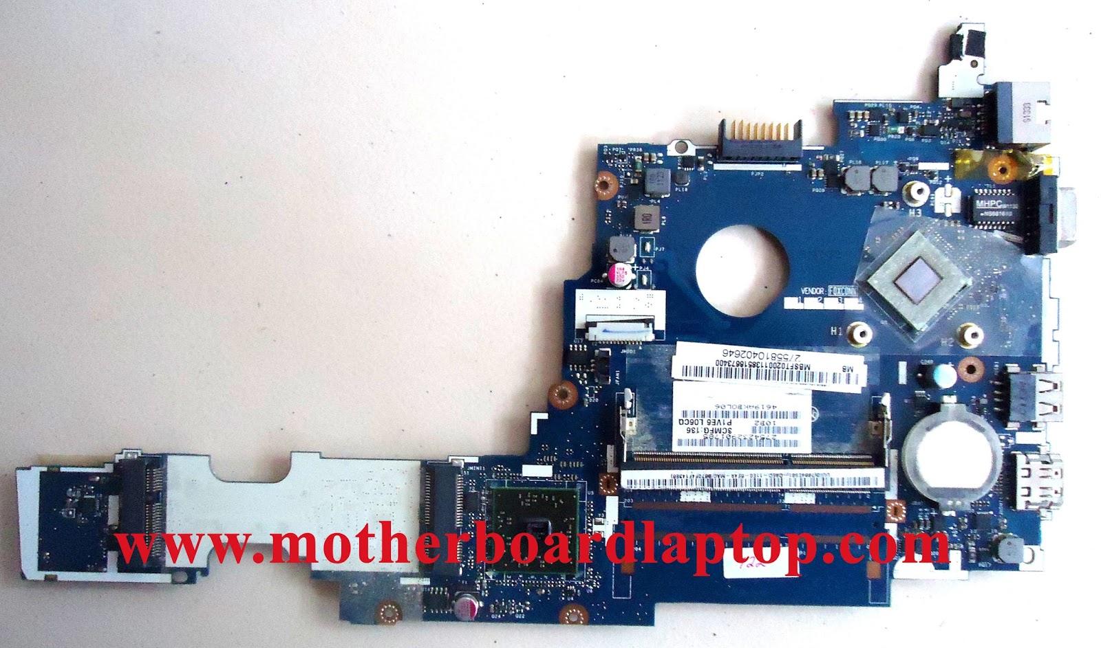 Motherboard Laptop Bekas Acer Aspire One 722 AMD