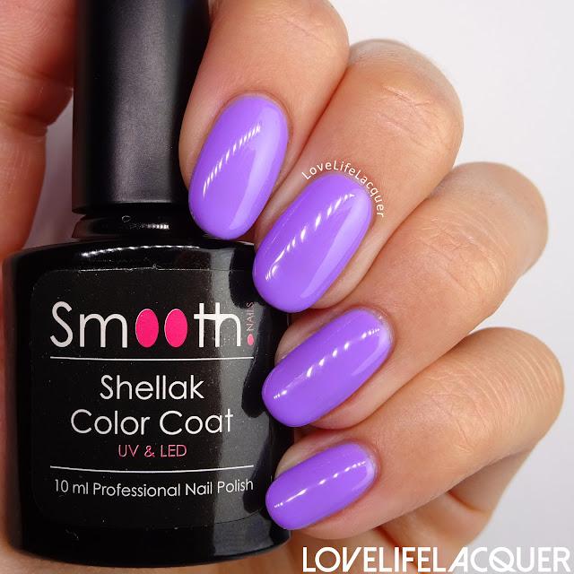 SmoothNails Lavendel swatch