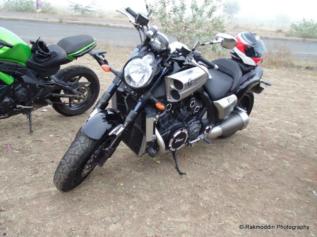 India Super bikes at Veer Dam near Pune