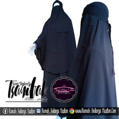 Model cadar Bandana Tali Gamis Tsaqifah