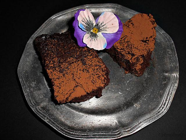 brownie de feijao sem acucar