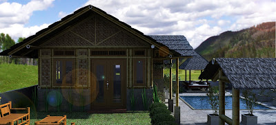 bamboo style house 08