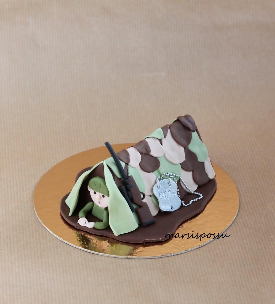 kakkukoriste varusmiehelle