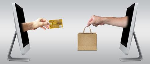 como pagar as compras pela internet