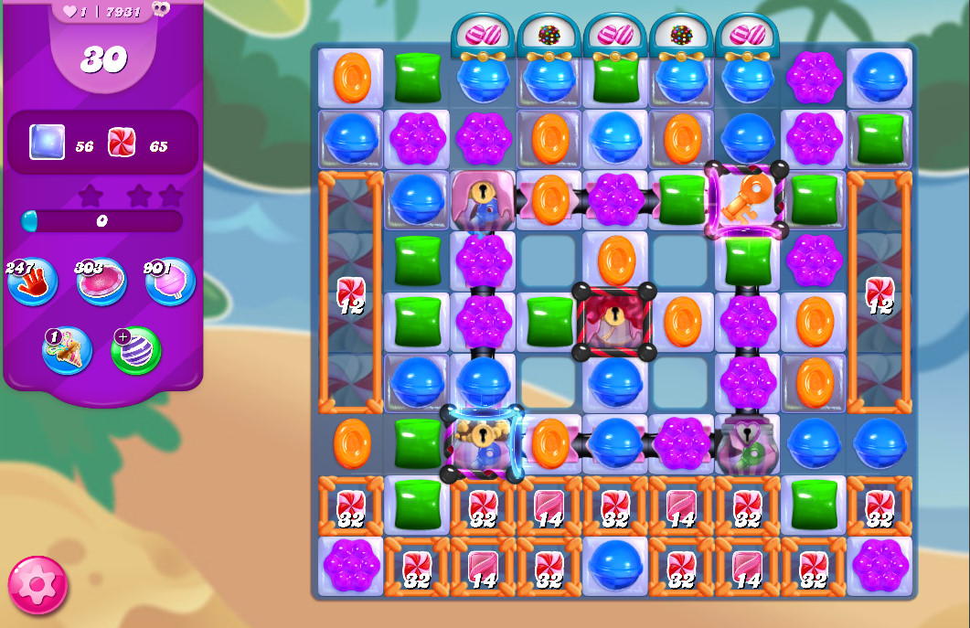 Candy Crush Saga level 7931