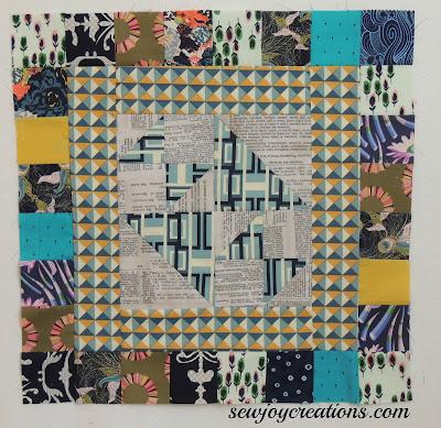 My Secret Garden by Pat Sloan October block