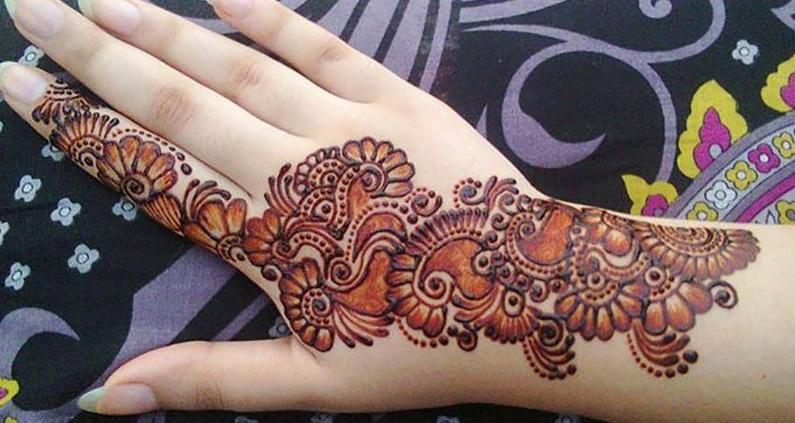 Mehndi Designs Simple : Simple mehndi designs for hands hamariweb.online