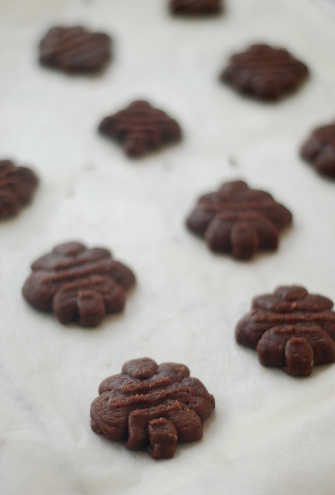 chocolate spritz cookies - photo #4