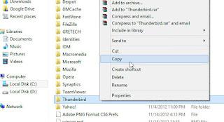 Backup File Dan Data Email Mozilla Thunderbird