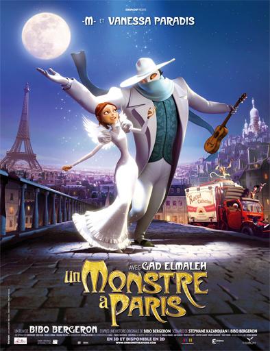 Ver Un monstruo en París (Un monstre à Paris) (2011) Online