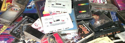 cassette tapes, compilation tapes, 1980s, 1990s,