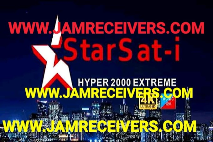 STARSAT-i HYPER 2000 EXTREME NEW POWERVU SOFTWARE 2019