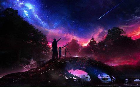 Круиз по Вселенной. Стихотворение.