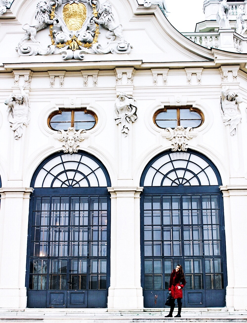 48h in Vienna Belvedere palace visit photos