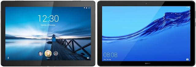 Lenovo Tab M10 32 GB vs Huawei Mediapad T5 32 GB