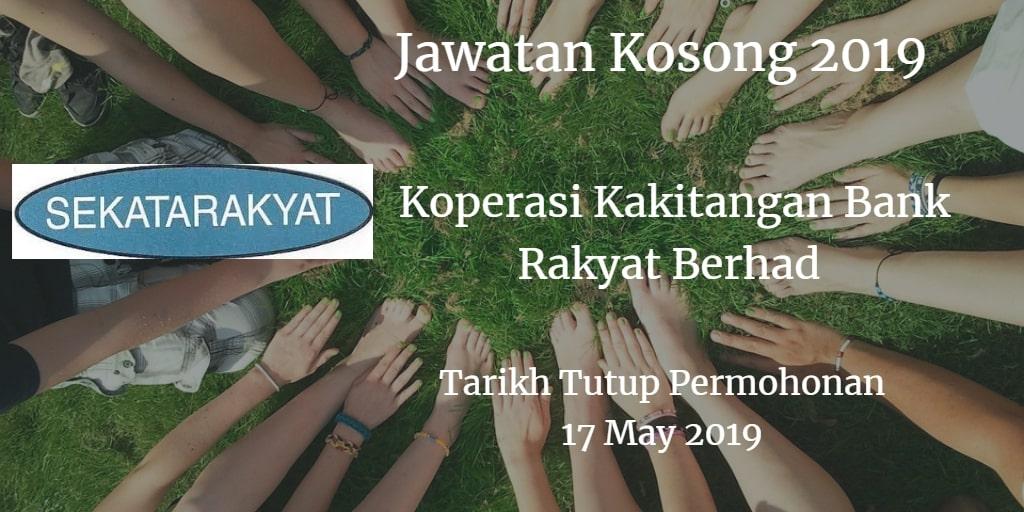 Jawatan Kosong SEKATARAKYAT 17 May 2019
