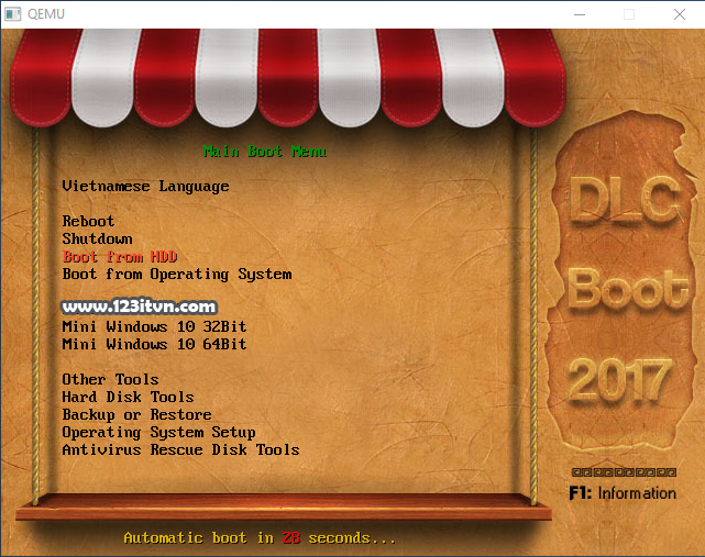 Hướng dẫn tạo usb boot DLC