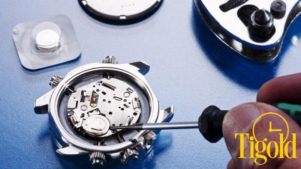 Tigold thay pin miễn phí trọn đời cho đồng hồ
