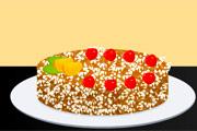 لعبة طبخ كيكة جوز الهند