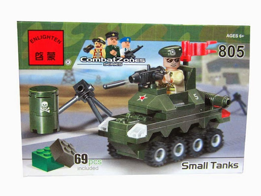 review : Enlighten - combat zones - 805 small tank