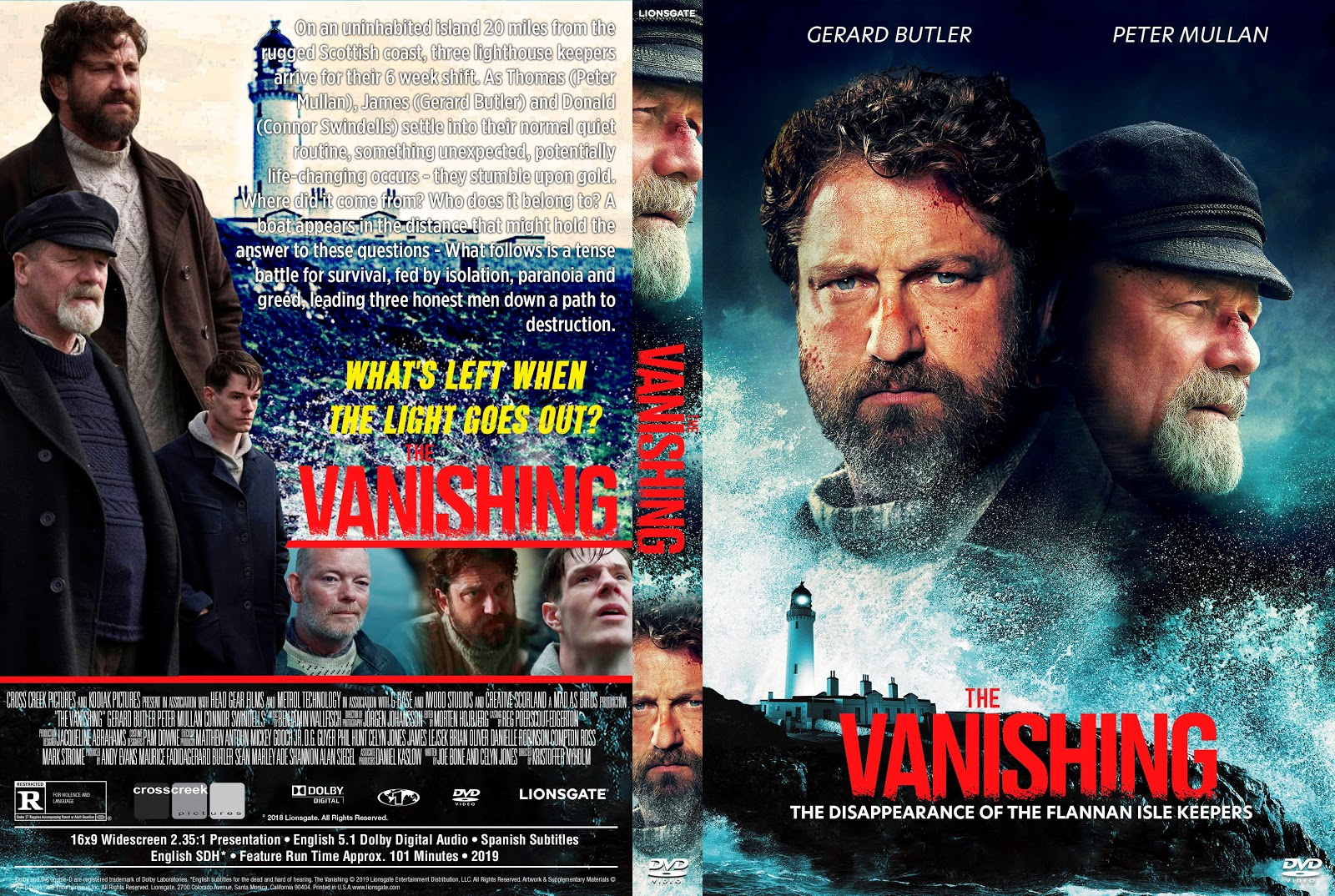 The Vanishing DVD Cover | Cover Addict - Free DVD, Bluray