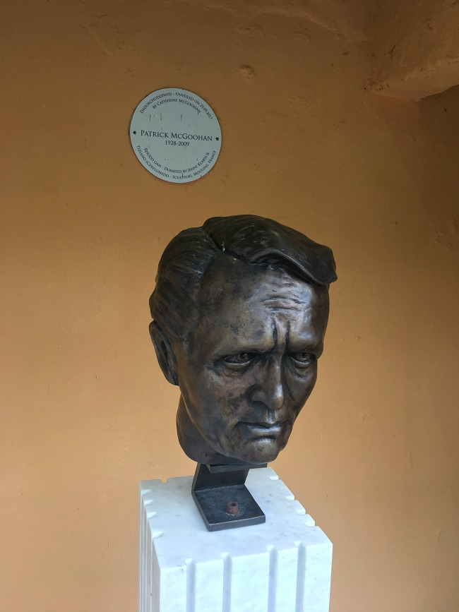 Portmeirion-Wales-patrick-mcgoohan-bust