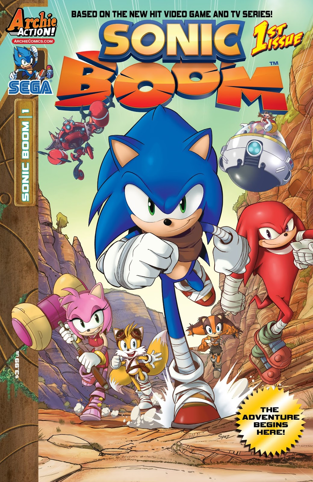 Hedgehogs Can T Swim Sonic Boom Issue 1