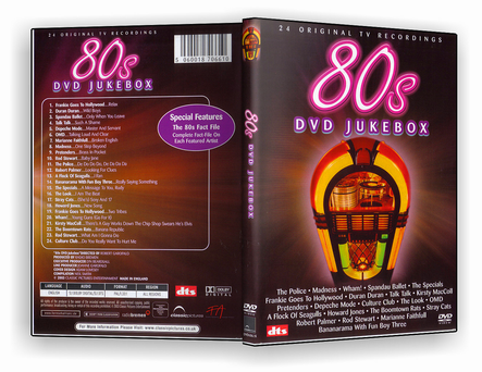 CAPA DVD – 80s DVD JukeBox – DVD-R
