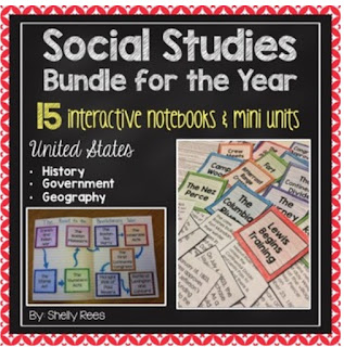 Social Studies Bundle for the Year