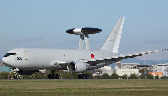 Japanese AWACS Boeing E-767
