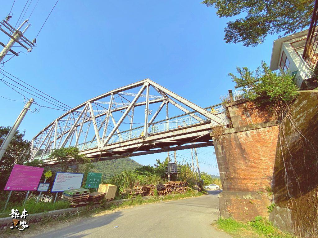 大甲溪花樑鋼橋|舊山線鐵道|百年歷史的鋼桁架橋建築