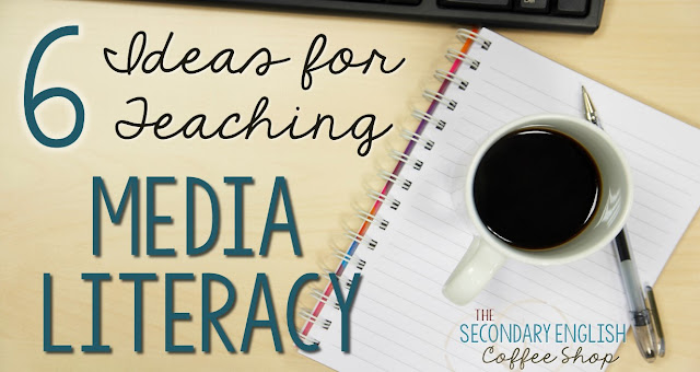 Teaching Media Literacy - Students consume media in record amounts, but how can you best help them becoming discerning readers, viewers, and listeners? Check out these ideas for teaching students about persuasive techniques, media bias, and credibility. Blog post at the Secondary English Coffee Shop by Nouvelle ELA.