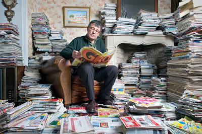 Revistas y periódicos reciclados