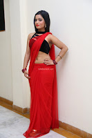 Aasma Syed in Red Saree Sleeveless Black Choli Spicy Pics ~  Exclusive Celebrities Galleries 021.jpg